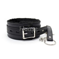Sexy Bondage Locked Collar With Leash Sex Novelty Adult Product Sex toy