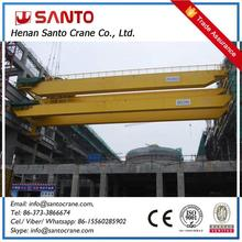 Strong Steel Structure Industry Application Two Girder Bridge Traveling Crane