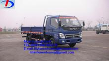 2014 new product 7ton 4*2 Foton mini cargo truck for sale