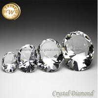 30-100MM clear crystal diamond ornaments
