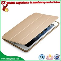 Shenzhen Factory Flip leather For iPad Case cover , For ipad mini case , case with stand support function