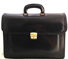 Made in Italy bag handbag man briefcase leather workbag work laptop case 7008
