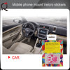 easy to use cloth material universal car mount phone holder/