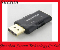 Male DisplayPort to HDMI Adapter For Monitor Projector TV HDTV DP to HDMI Female Accept Paypal