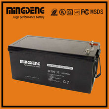 China manufacturer lead acid battery 12v agm ups battery with CE certificate
