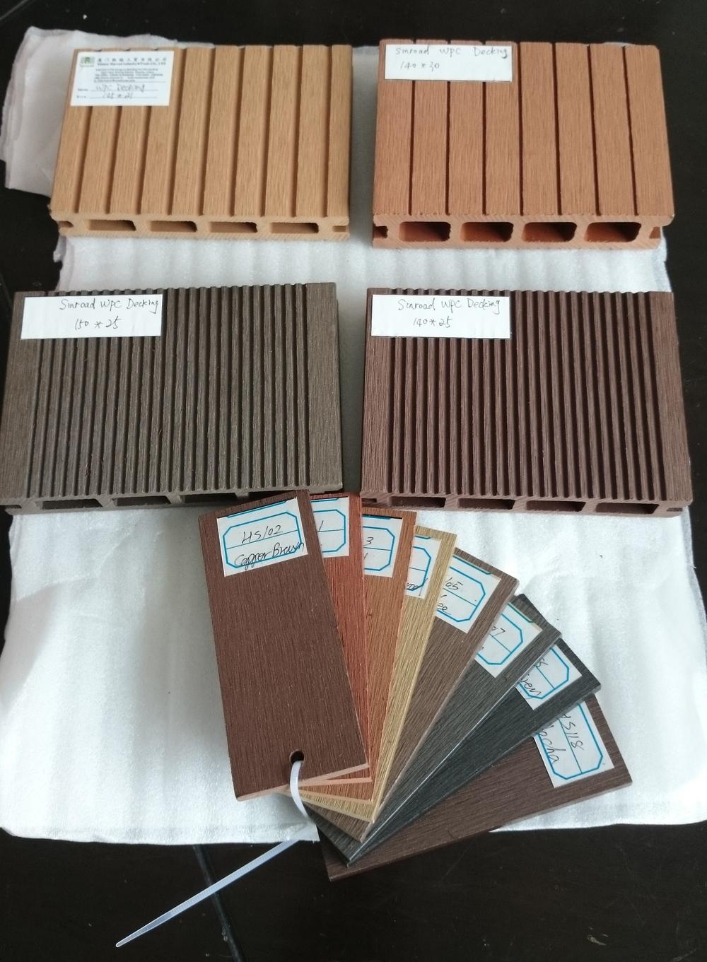 Waterproof outdoor flooring wpc decking wpc decking floor for Outdoor decking boards