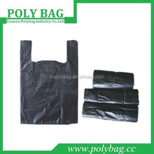 promotion branded order custom fashion plastic bag tshirt