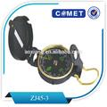 clásico reloj de bolsillo de bronceado de estilo antiguo camping brújula
