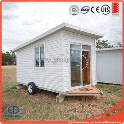 Australia stanard mobile tralier cabin with expandable container house for sale