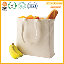 popular canvas shopping bag fruit with handle wholesale