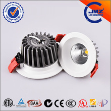 Manufacturer wholesale 5 years warranty cob led downlight CE/TUV/SAA