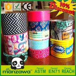 offer custom printing washi masking tape