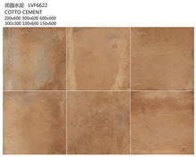 Rústico azulejo esmaltado LVF6622