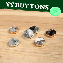 camisas botones de metal /laser metal button