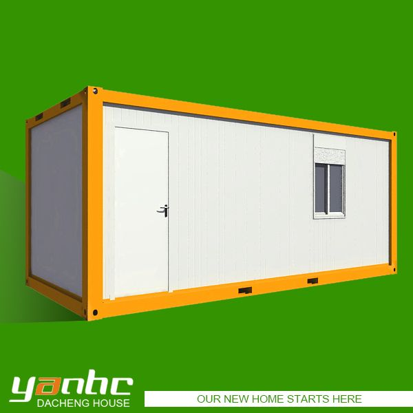 welded container house