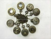 watch necklace, Working clock, Timepiece, Steampunk Vintage Bohemian Clock Necklace,