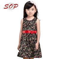 Wholesale Children Boutique Clothing Girls Cotton Frock Designs Child Dress
