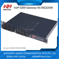 16 channels GoIP GSM gateway with IMEI change