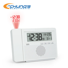 AM FM digital PLL radio clock with alarm,snooze and sleep function