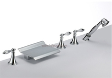 Chrome 5 pcs Fancy Bathtub Faucet (85H02_CHR)