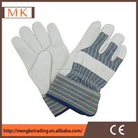 Leather working gloves cow grain