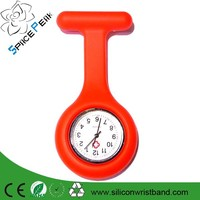 Hot! Cheap Price Digital Silicone Nurse Watch / Nursing Pocket Watch/Brooch Japan Movement Nurse Watch