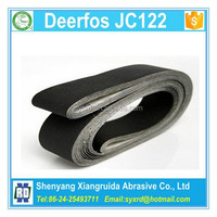2 x 42 Deerfos JC122 Silicon Carbide Sanding Belts Grit 120