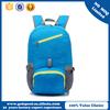 Lightweight waterproof nylon foldable backpack / folding sport travel bag