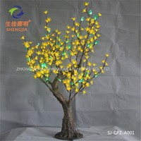chinese promotional items LED High Simulation Peach Flower Tree Lighting Products