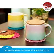 Main product simple design 3d mug ceramic mug animal mug with good offer