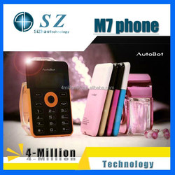 AIEK M7 Mobile Phone 4.5mm Ultra Thin Pocket Mini card size mobile Phone Low Radiation Card phone multi languages