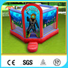 CILE Animated Cartoon Printing Inflatable Play Castle Jumping Bed for Kids with CU/UL blower