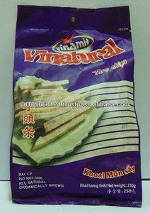 сушеные таро чипсы