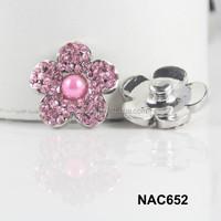 China alibaba women wholesale rhinestone chunks ginger snap chunks accessory free sample NAC652