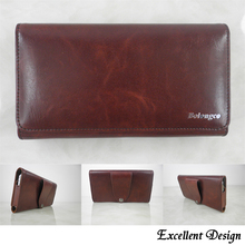 Horizontal Leather Pouch Holster Belt Clip Case for nokia