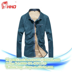 Hot Sale Slim Fit Fashion Thicken Shirts High Quality For Business Men Long Sleeve Shirts