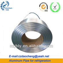 Round aluminum pipe and base for Air conditioners