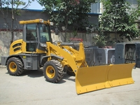 CE approved wheel loader new ZL15 with Euro 3 engine Hot sale wheel loader new in European Markets