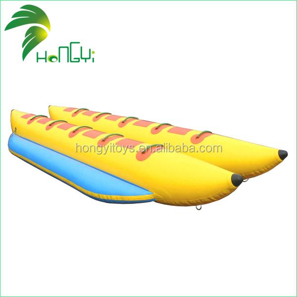 Gunagzhou Hongyi Big Discoutn On Sale PVC Inflatable Banana Boat.jpg