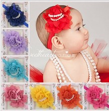 Nice Baby little Girl Flower Headband Kids baby Hair flower headwear accessory!!