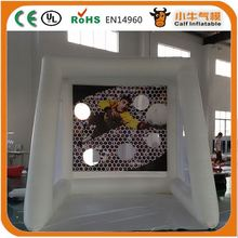 Factory direct sale OEM design export inflatable movie screen for event for promotion