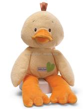 New soft plush toy stuffed cute plush toy yellow duck ,Plush Soft Yellow Duck Toy