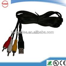 female/micro usb to male rca converter cable