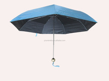 UV 3 folding aluminum umbrella