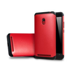 2015 New arrival slim colorful armor back cover mobile phone case for asus zenfone 6