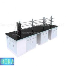 Metal Type University Used Epoxy Resin Lab Bench Top