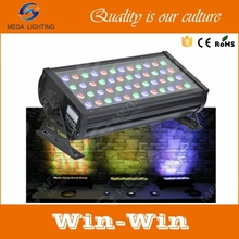 48 x3 w waterproof IP65 rgb led outdoor wall washer light led uplight