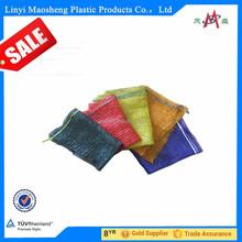 mesh bag/net with drawstring packing for vegetable,fruit,firewood