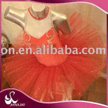 Ballet dress supplier specialized manufacturers Spandex Fashion queen of hearts costume