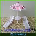 parque modelo de escritorio artificial para la decoración de la construcción de modelos